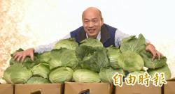 照顧農民? 韓國瑜進口中國水果從32噸暴增至346噸