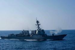 2美艦「例行性」經台海 中國2部會氣噗噗