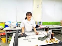 全國機械製圖賽 首位女冠軍