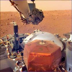 NASA洞察號 捕捉到火星風聲