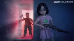 網友製作美圖動畫  小英力抗「刁大帝」