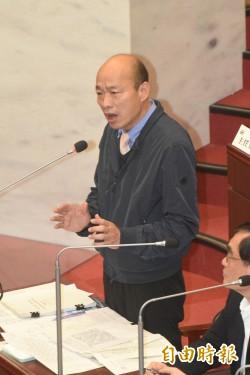 韓國瑜要老師進議會備詢 國中師轟:去接受公審?