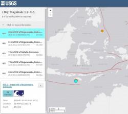 印尼發生6.4極淺層強震 傷亡災情仍不明