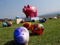 網美照過來! 台灣客家文化館「豬飾大吉」超可愛