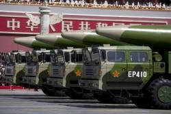 中國飛彈威脅大增 美官員:會用核武威嚇對手、保護盟友