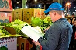 北農三月推「實名制」 攔阻農藥超標蔬果