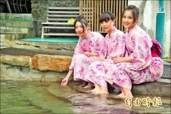 《暖暖泡湯趣》四重溪溫泉 打造薰衣草燈海夜景 打卡熱點