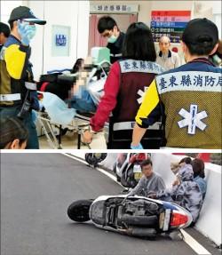 騎車飆速遇強風 女大學生自撞亡