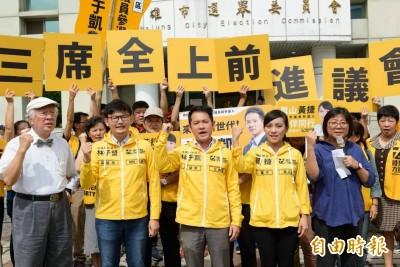 時代力量明選出新黨魁 陳惠敏請辭秘書長不續任