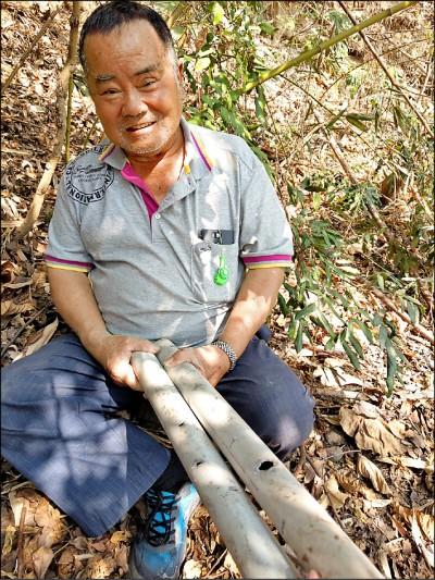 苦旱缺水/動物啃山泉管 暖心村長置桶儲水