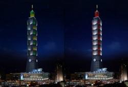 跨界燈樂共舞 元宵節最高主燈在台北101