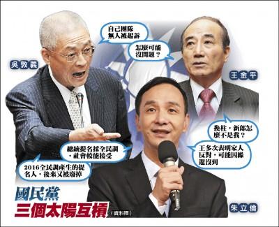 吳敦義稱團隊清廉 王金平:怎可能沒問題