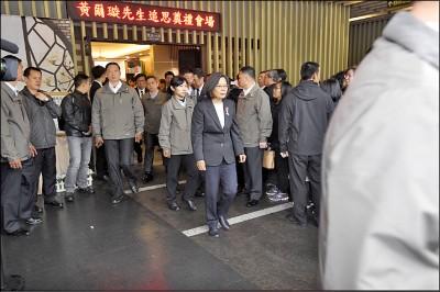 黃爾璇為爭民主丟教職 總統願助平反