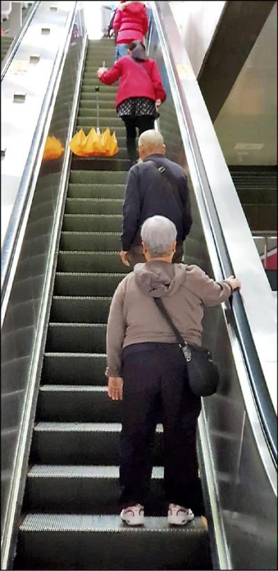 捷運電扶梯跌倒不治》7旬嬤被訴「撞死」8旬翁無罪