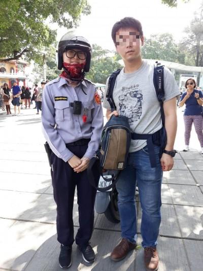 日本遊客好感動!遺失背包獲得一大群人幫忙