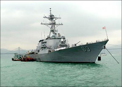 美艦再穿越台海「彰顯對印太支持」