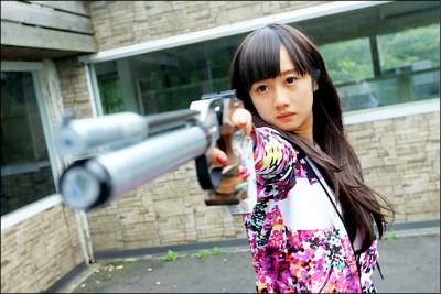 台灣射擊第2張》證件妹 射下東奧門票