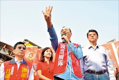 台南立委補選》為謝龍介站台 朱打翻轉牌