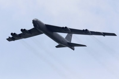 B-52轟炸機中國外海巡邏 美軍曝「持續轟炸機進駐任務」