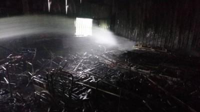 雪上加霜!門諾基金會倉庫失火 募集病床、輪椅幾全毀