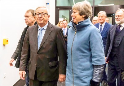英國會表決前 脫歐新協議敲定