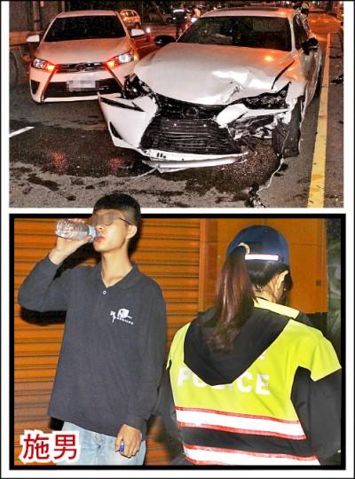 酒駕撞爛20歲生日禮豪車 富少躲起來 女警拉出送辦