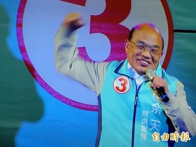 「選余天較實在」 蘇貞昌:有些立委沒替台灣說過半句話
