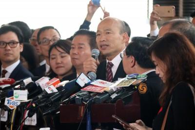 韓國瑜訪「極權中樞」中聯辦 港眾志創黨主席:魔鬼交易