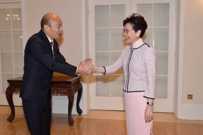 訪港被問明年總統大選 韓國瑜答非所問:吃水果了嗎?