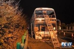 長沙高速公路遊覽車火燒車 26死、28傷