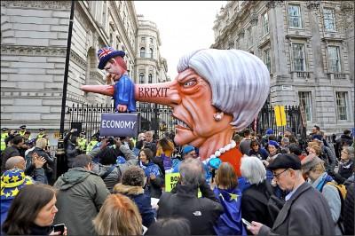 反脫歐大遊行 要求二次公投