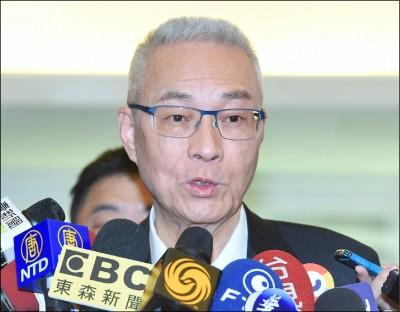 國民黨初選 火爆互槓》朱:沒聽過徵召式初選 吳:過去也無換柱制度