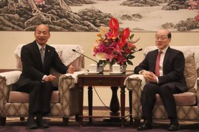 韓國瑜在中國講「中華民國」?網友笑了:只是在講古