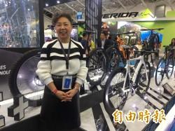 巨大董事長杜綉珍:傳統和電動自行車已黃金交叉