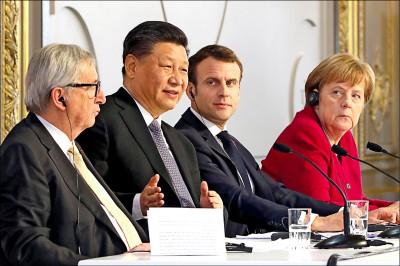 歐盟嗆習近平︰開放中國市場