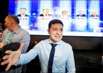 諧星對戰巧克力大王 烏克蘭總統選舉421定江山