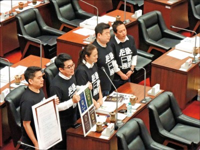 韓答詢扯中國內戰 議員:我們不是中國人