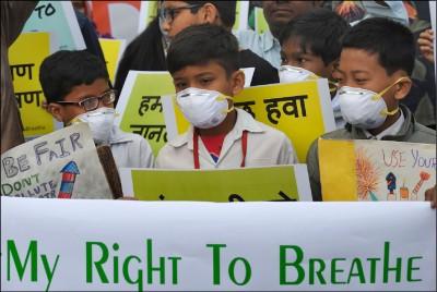 研究:空污害兒童減壽20個月