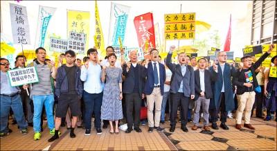 佔中9子遭清算 香港自由喪鐘