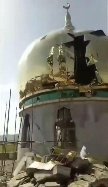 中國強拆清真寺 民眾控訴:像日本鬼子進村