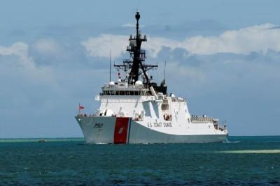 上月通過台海 美國海岸防衛隊艦艇17年來首次訪港