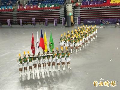 台北市樂儀旗舞嘉年華 建、北等13校展現自信活力