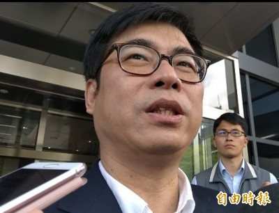 陳其邁點破韓國瑜想參選總統 但「要跟大家講清楚」