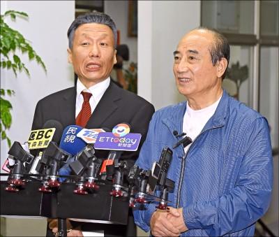 國民黨總統提名若改為全民調 王金平嗆不公平