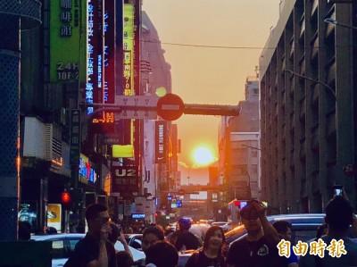 就在明天!台北街頭「懸日」將出現在這2個地方