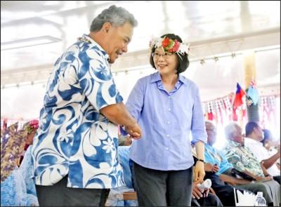 建交40年 吐瓦魯總理來訪