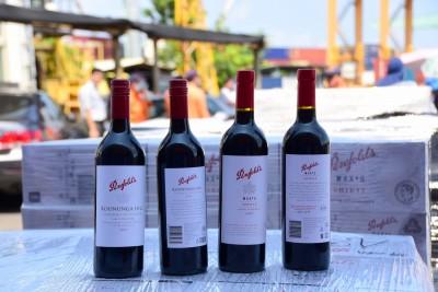 澳洲知名紅酒再走私高雄 查獲2萬瓶又創紀錄