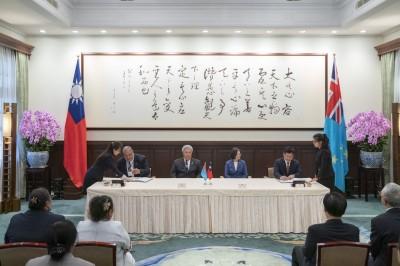 台灣與吐瓦魯簽協定承認我船員證書 增加國際就業舞台