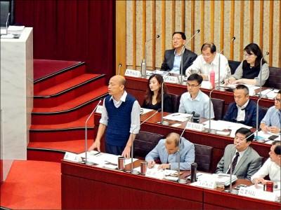 家臣變高官惹議 韓國瑜:程建騰不來了