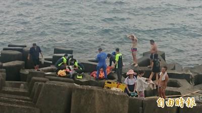 外木山海邊浮潛出意外 女子溺水不治